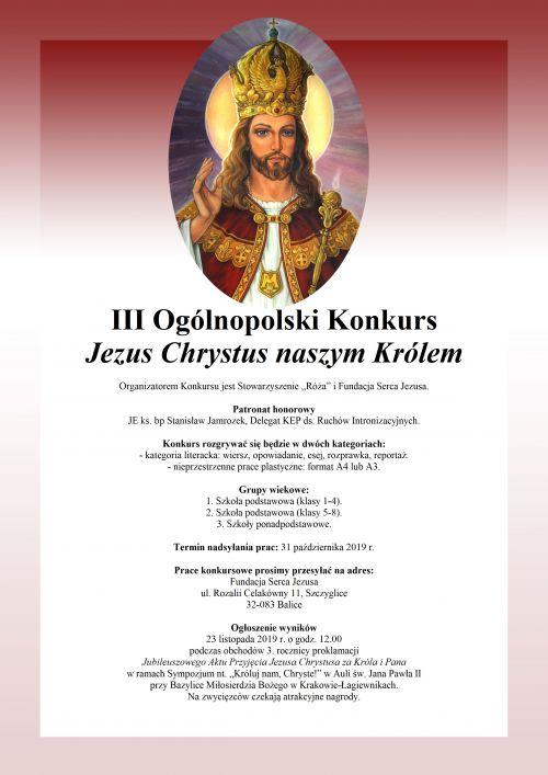 Plakat III OKJChNK 2019