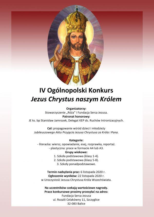 Konkurs JChNK plakat 2020