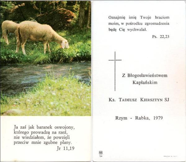 Przeglądasz zdjęcia z galerii: Galeria zdjęć - ks. Tadeusz Kiersztyn